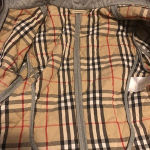 Re posh. Burberry Quilted Jacket